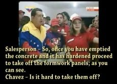 Encofrados Video - Presidente Chavez de Venezuela